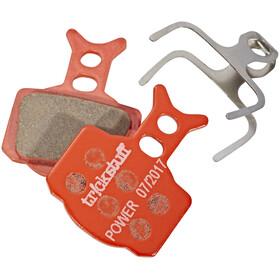 Tr!ckstuff Power 630PO Bremsebelægninger Formula The One & Mega orange